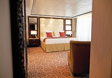 Celebrity Reflection | Cabine Suite Grand Standing