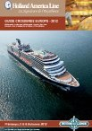 Brochure Holland America Line