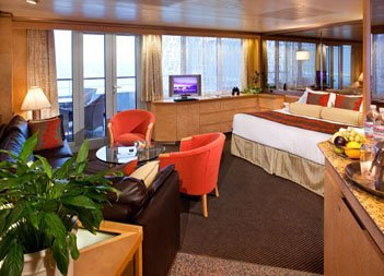 ms Rotterdam | Cabine Suite Deluxe