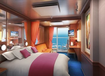 Norwegian Pearl | Cabine Junior Suite Balcon
