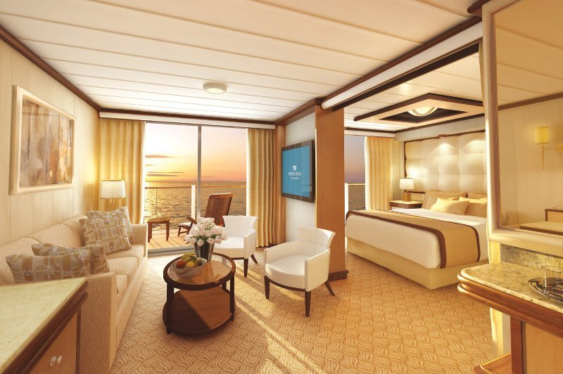 Royal Princess | Cabine Suite Deluxe
