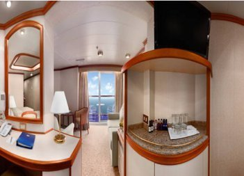 Ruby Princess | Cabine Grande Suite Deluxe
