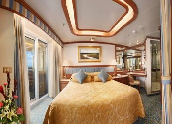 Ruby Princess | Cabine Suite Deluxe