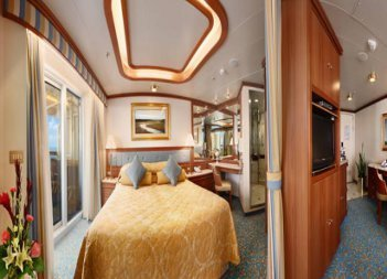 Ruby Princess | Cabine Suite Grand Standing