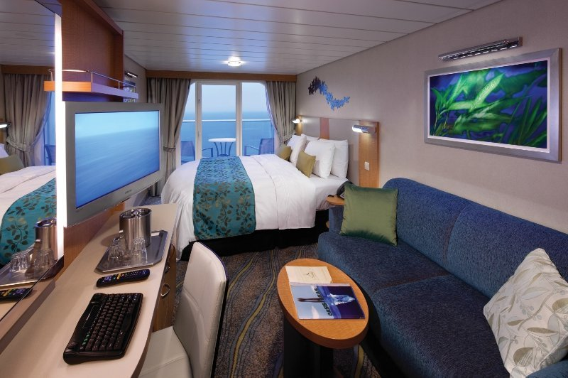Oasis of the Seas | Cabine Extérieure Balcon