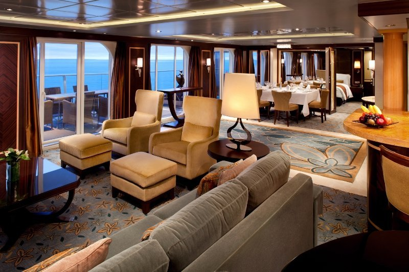 Oasis of the Seas | Cabine Suite Deluxe