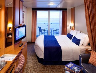 Radiance of the Seas | Cabine Extérieure Balcon