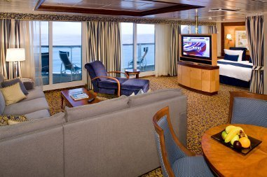 Radiance of the Seas | Cabine Suite Deluxe