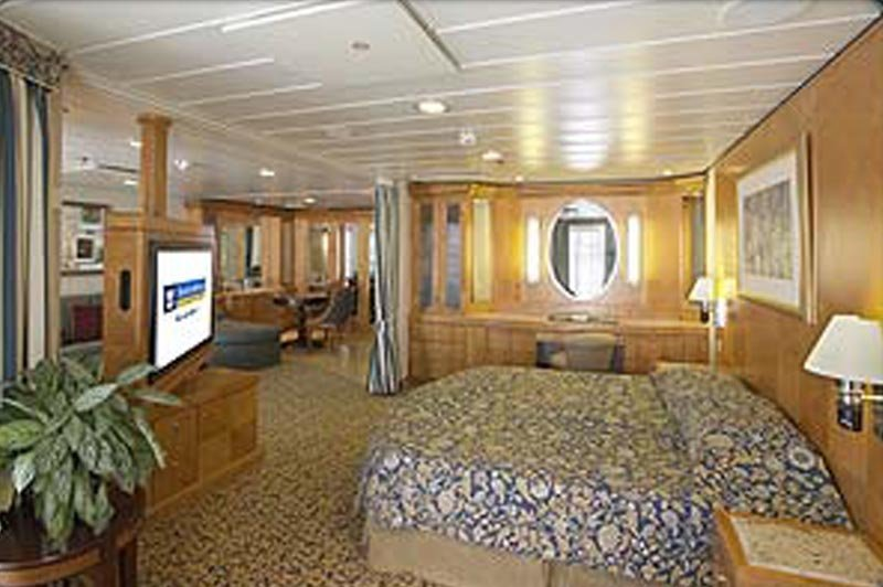 Radiance of the Seas | Cabine Suite Grand Standing