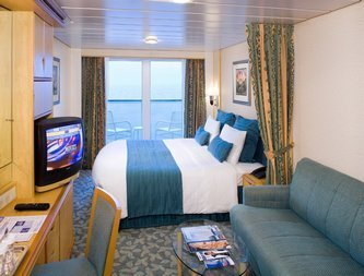 Voyager of the Seas | Cabine Extérieure Balcon