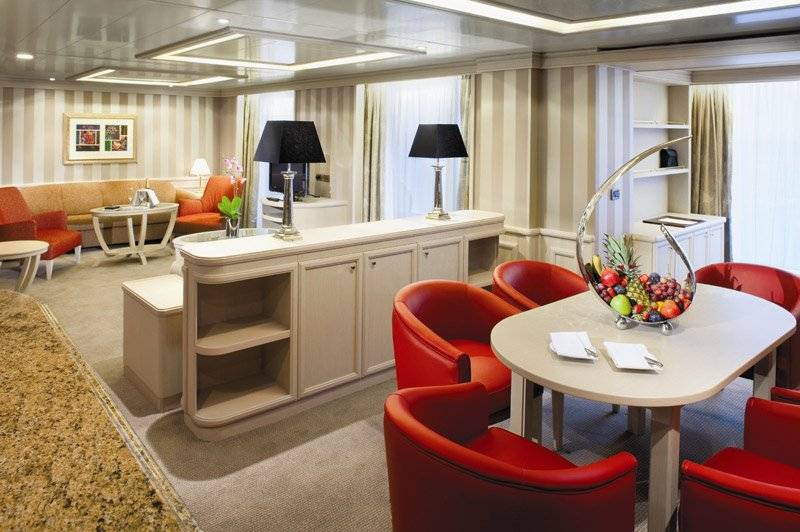 Silver Spirit | Cabine Suite Grand Standing