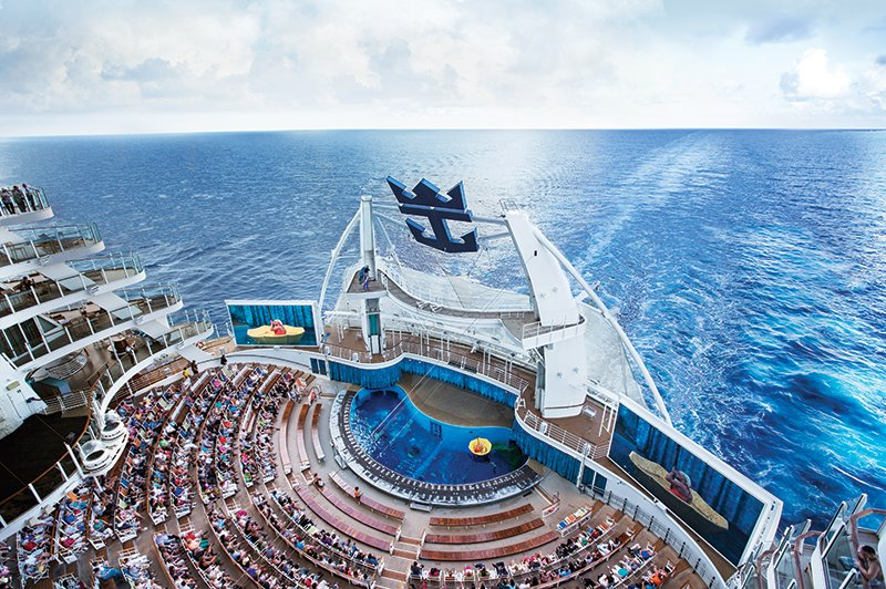 Vols à 100€ : Oasis of the Seas !