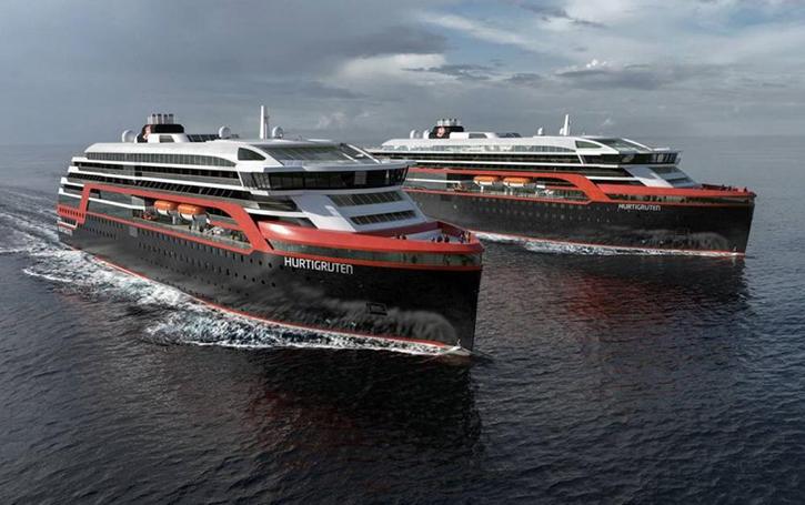 Deux nouveaux navires d'explorations pour Hurtigruten