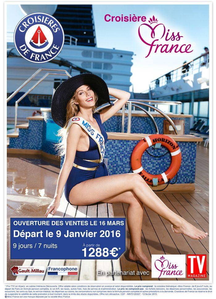 Croisière Miss France AFFICHE