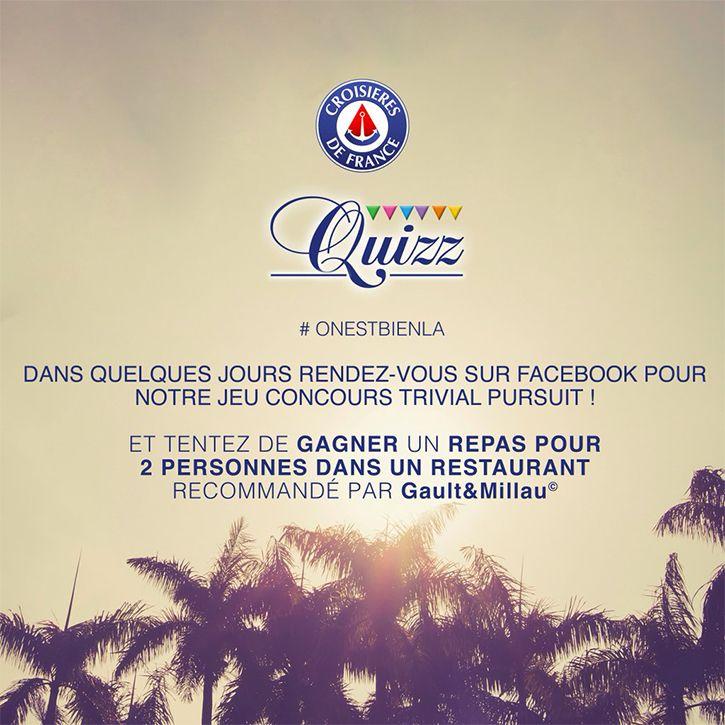 Un jeu concours organisé par Croisières de France