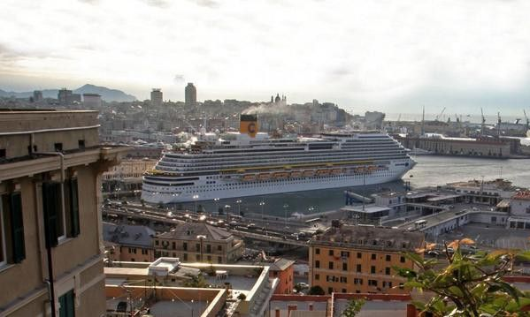 Premières photos du Costa Diadema au port