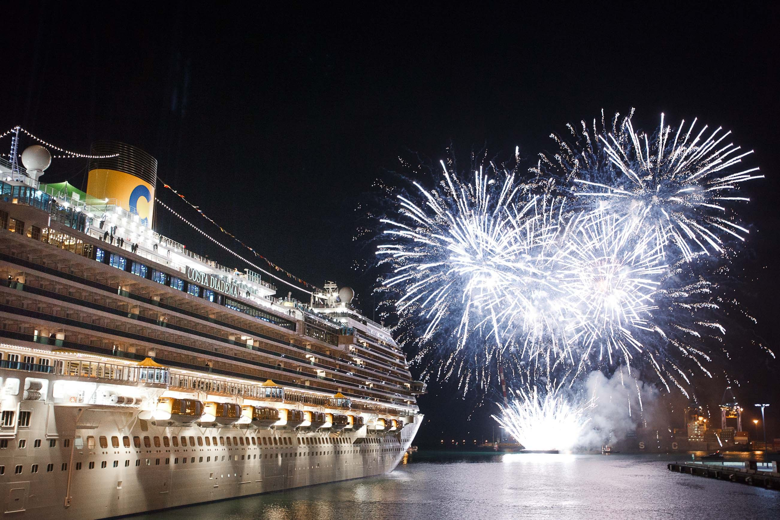 Feux d'artifice Costa Diadema