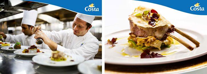 Des nouveaux menus régionaux pour la compagnie Costa