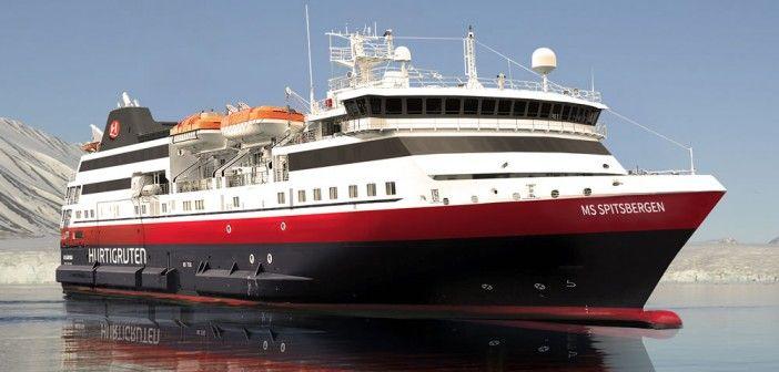 Le nouveau fleuron d'Hurtigruten sera baptisé MS Spitsbergen