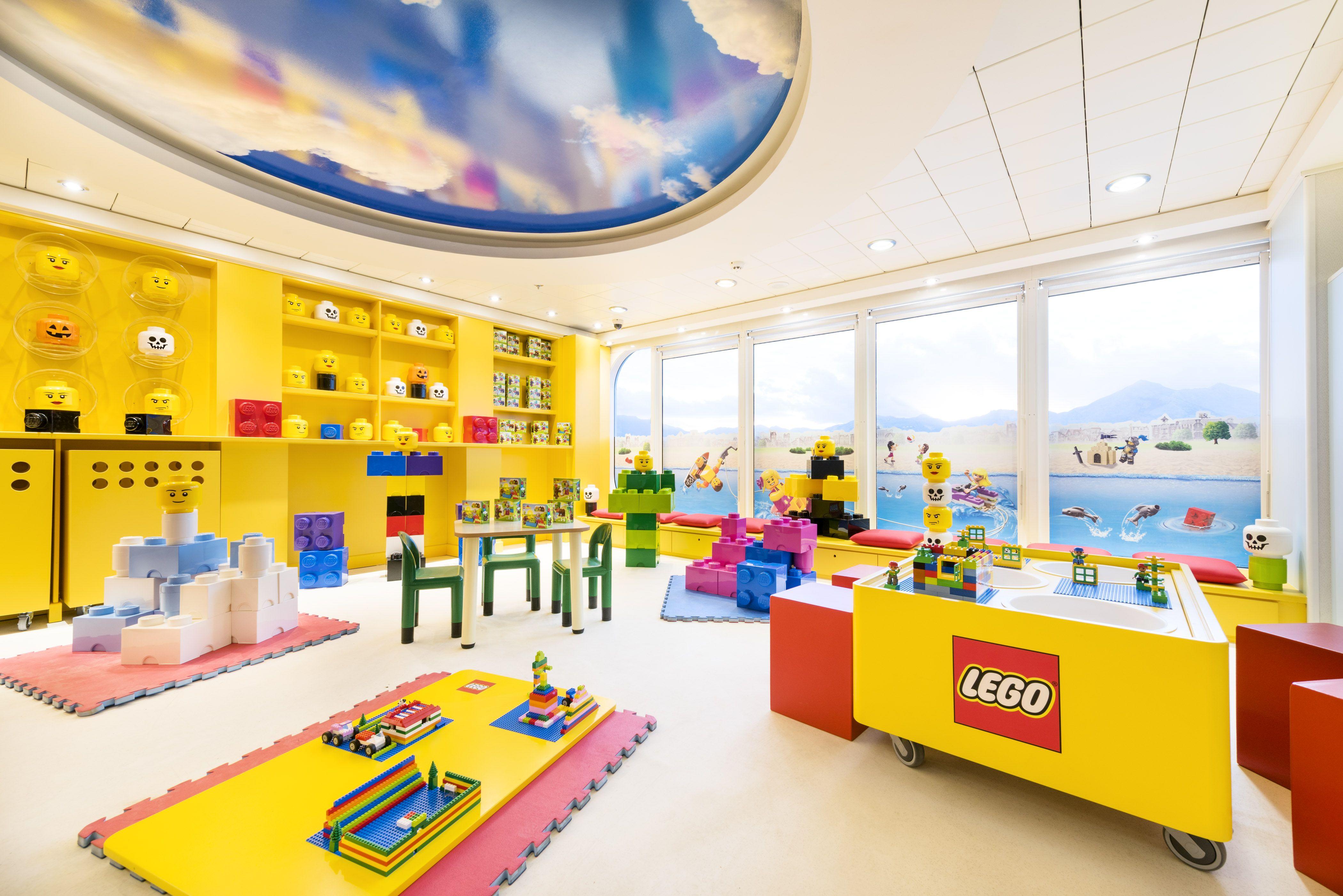 Espace de jeux LEGO MSC Armonia