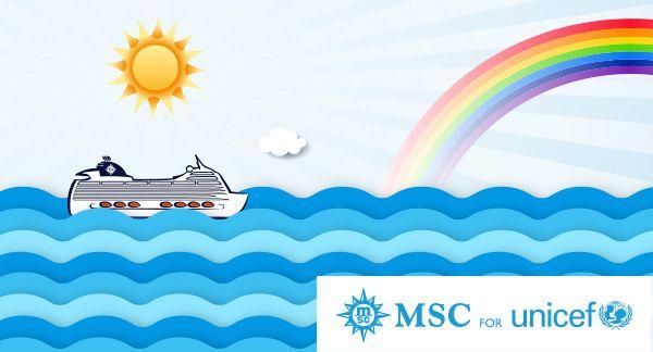 MSC Croisières: 4 millions d'euros pour l'UNICEF
