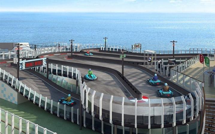 Le circuit sera doté d'une plateforme panoramique, d'un stand couvert, d'un atelier, d'une salle de rangement, d'un système de chronométrage et de projecteurs et d'une piste de 230 mètres de long.