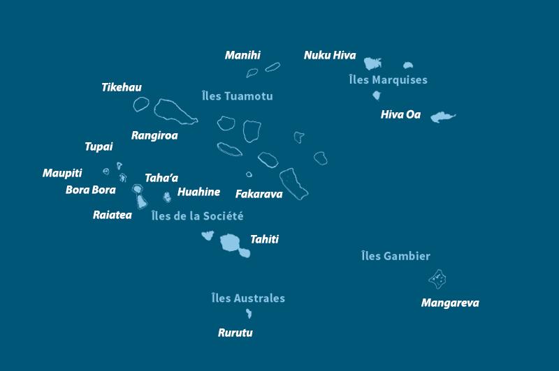 polynésie française iles
