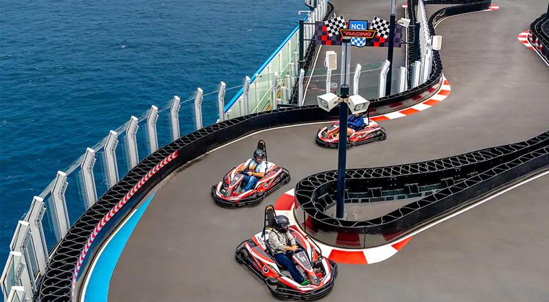 activité karting norwegian cruise lines