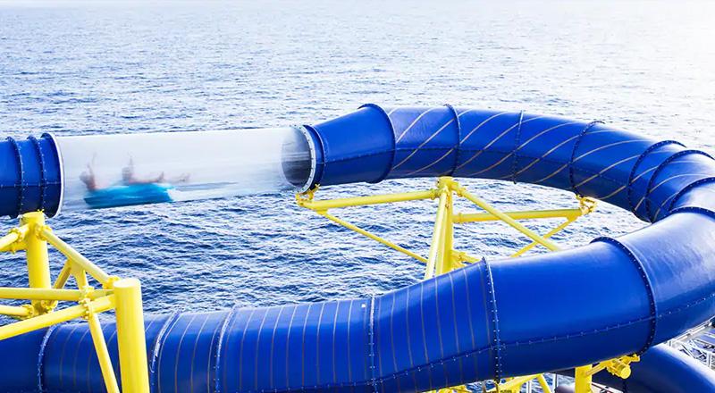 activité toboggan norwegian cruise lines