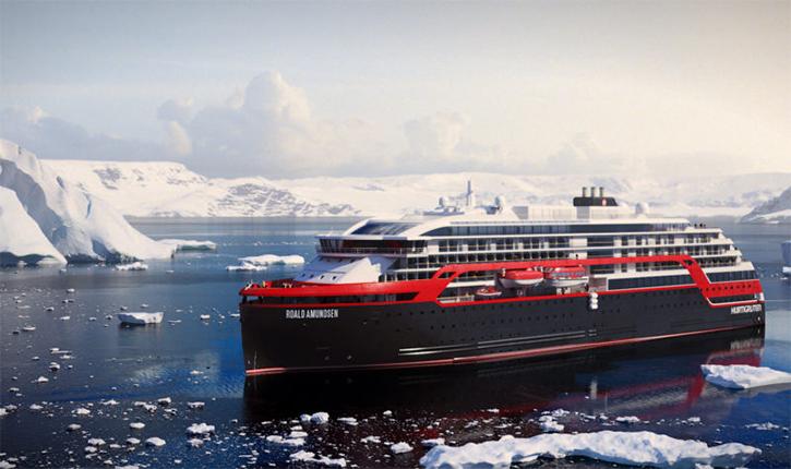 2018: Hurtigruten renforce sa présence en Antarctique