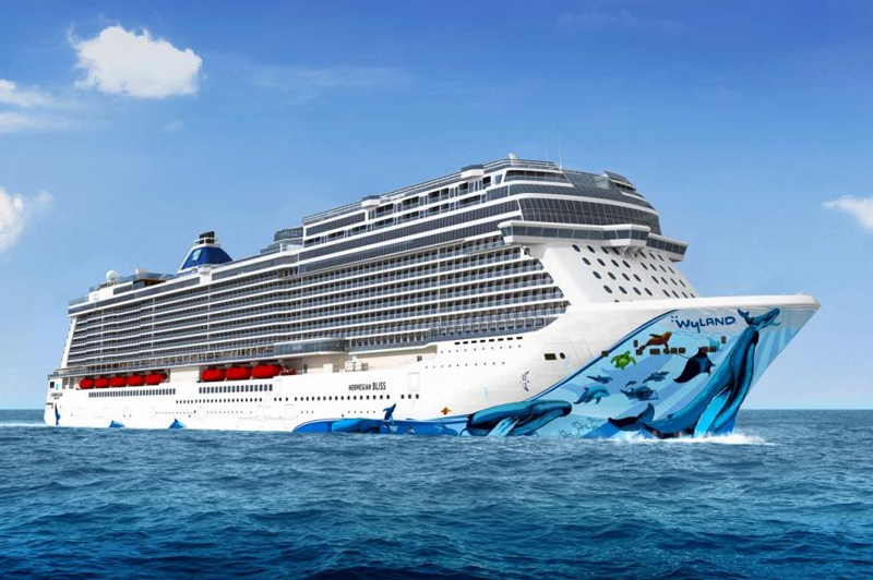 Le Norwegian Bliss partira de Miami fin 2018.