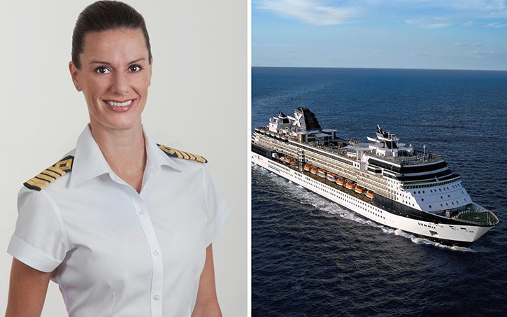 Le commandant du Celebrity Summit s'appelle Kate