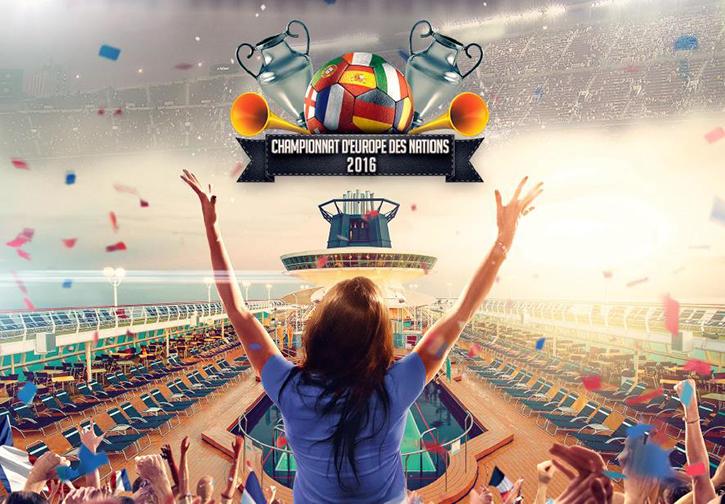 Vibrez au rythme du Championnat d'Europe des Nations avec Croisières de France