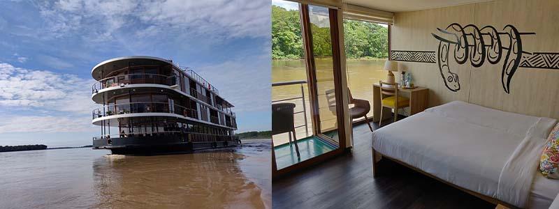 croisière amazonie - Anakonda Amazon Cruises