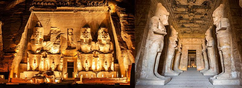 croisière Egypte temple d'Abou Simbel