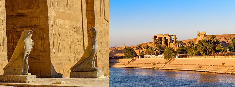 croisière egypte temple Kom Ombo et temple d'Horus