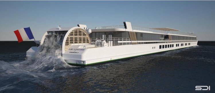 Neopolia débute la construction de l'Elbe Princesse II (CroisiEurope)