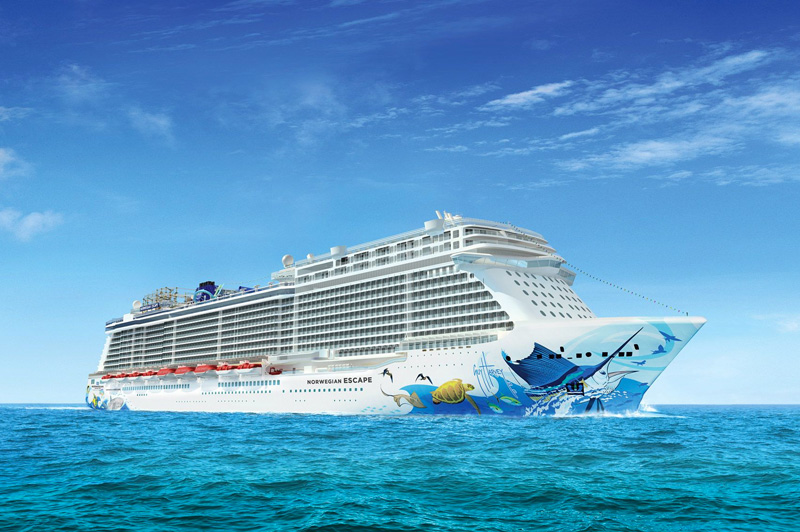 Norwegian Cruise Line innove dans l'Escape Game