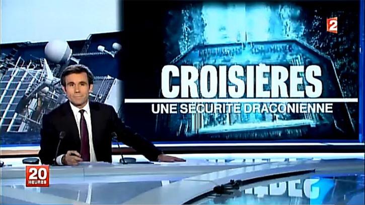 Sécurité à borddes navires de croisières : CLIA répond à France 2