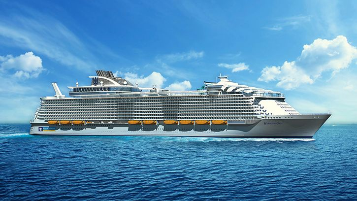 Le sistership de l'Harmony of the Seas en construction