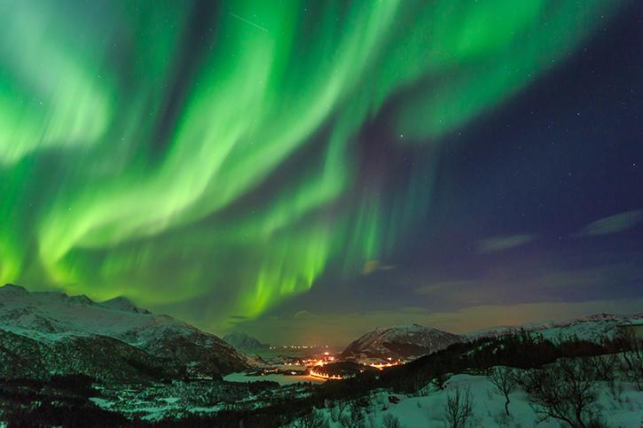 Aurores boréales: Hurtigruten et l'office de tourisme de Norvège lance un évènement éphémère à Paris