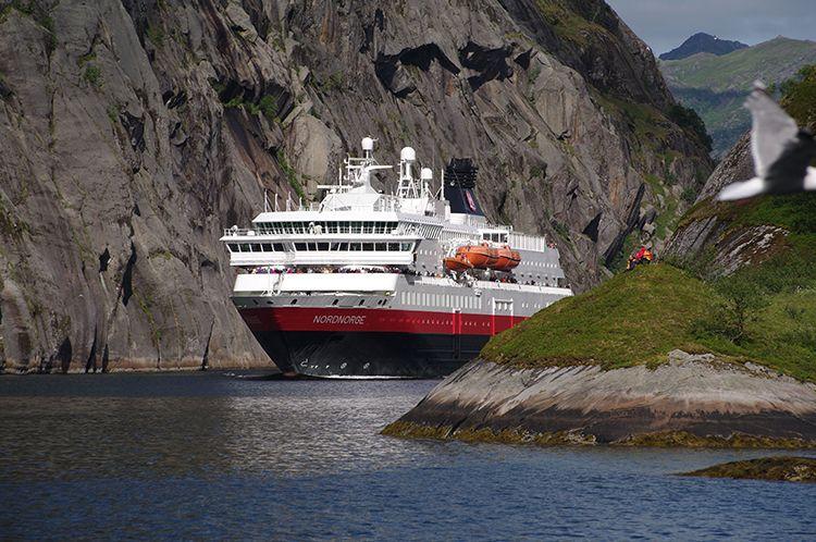 Les navires d'Hurtigruten vont faire peau neuve en 2016.