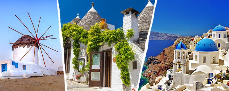 Photos destinations Méditerrannée Costa Croisières
