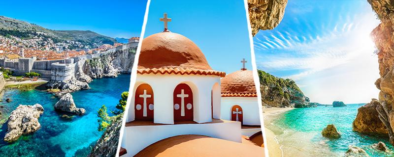 Photos destinations Méditerrannée Costa Croisières Adrique