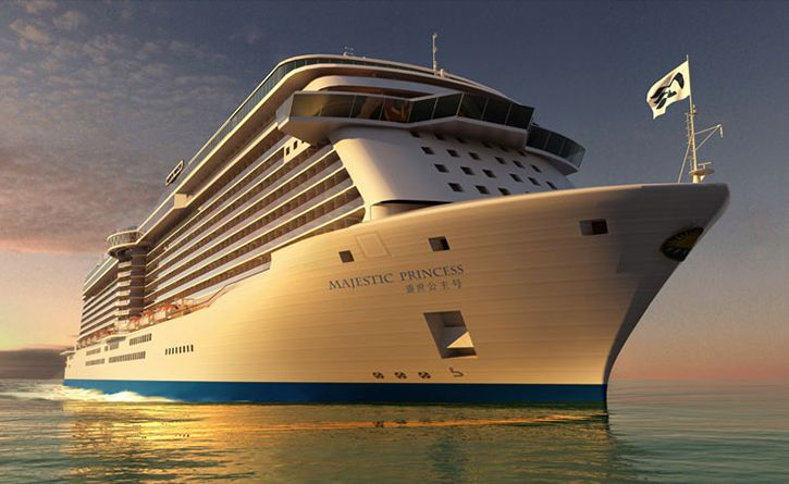 Princess Cruises : un nouveau navire pour le marché chinois