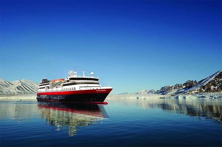 Un nouveau navire pour la compagnie Hurtigruten