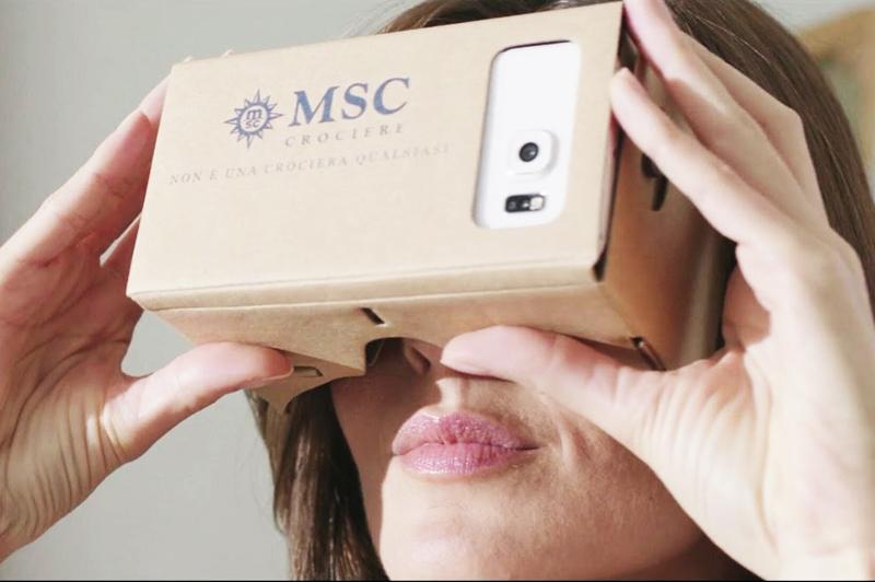 MSC a publié le premier catalogue en «réalité mixte»