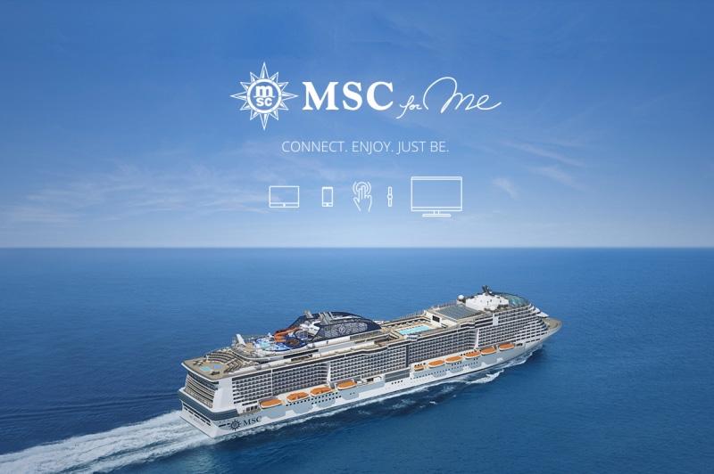 MSC Croisières lance une nouvelle application