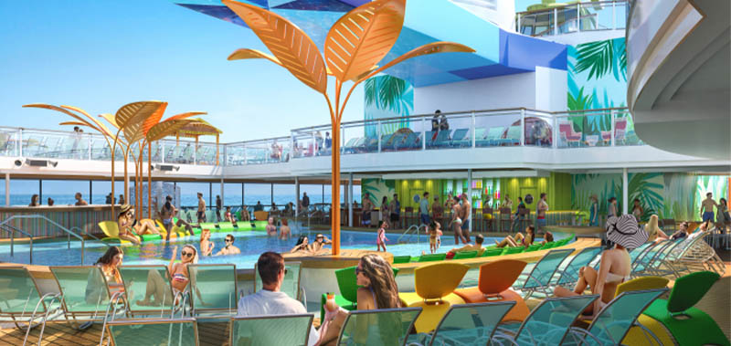 Piscines sur l'Odyssey of the Seas