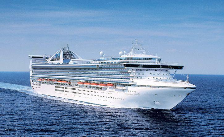 Le nouveau navire de la compagnie Princess fera escale en Europe avant de se positionner en Chine